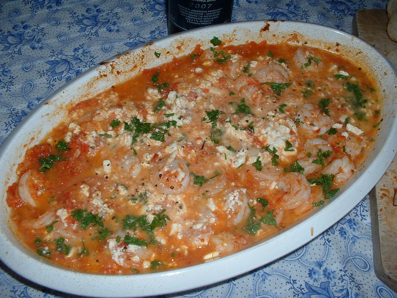 Shrimp Saganaki America S Test Kitchen