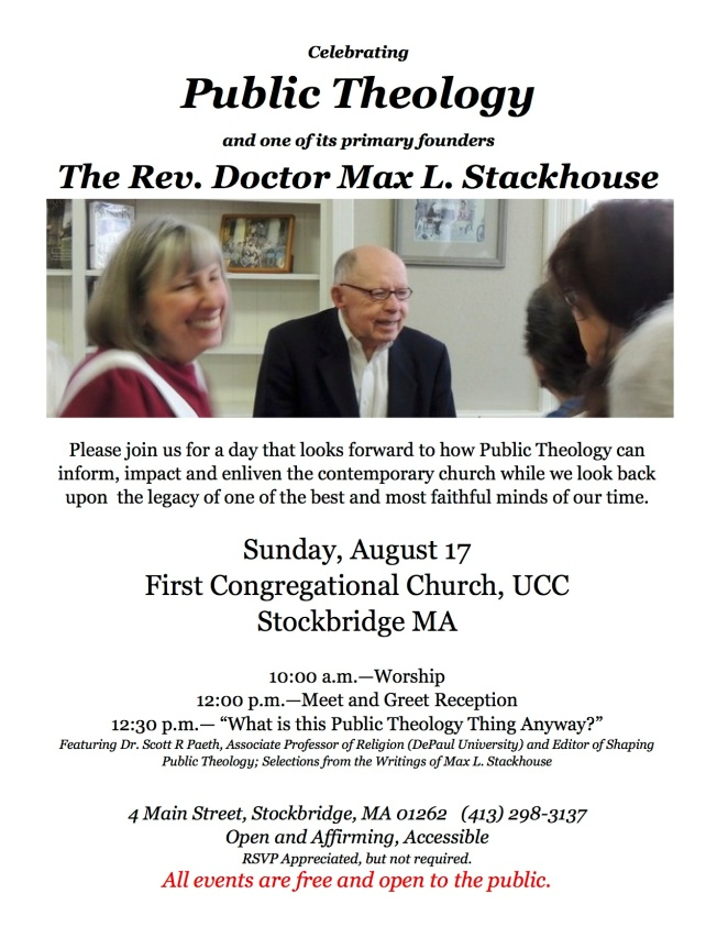 Max Stackhouse Flyer