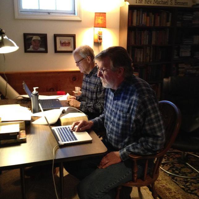 Working on Romans
