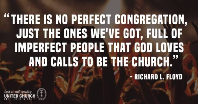 No perfect church